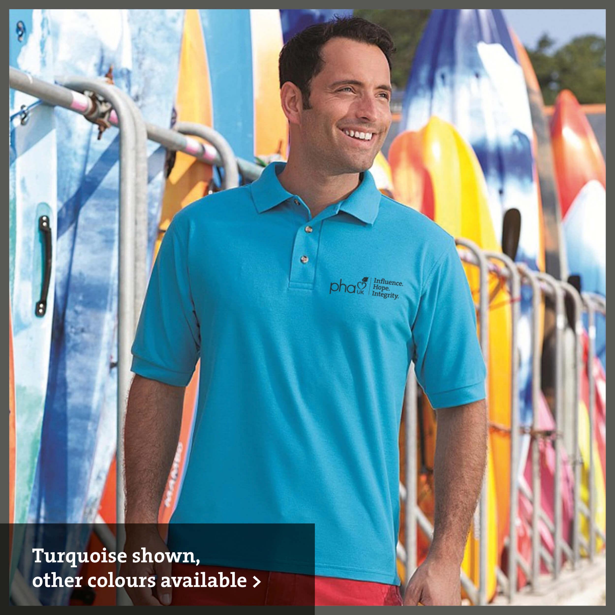 PHA UK branded Polo shirt