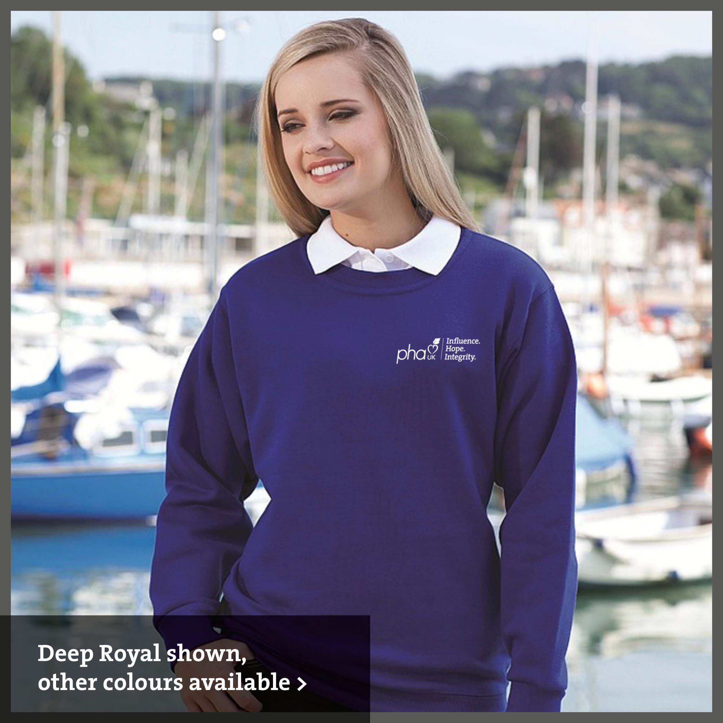 PHA UK branded Sweatshirt