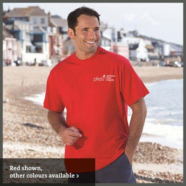 PHA UK branded T-shirt